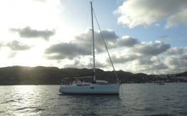 Jeanneau Sun Odyssey 36 I : Au mouillage en Martinique